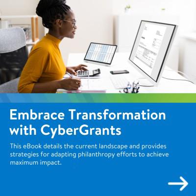 CyberGrants Grantmaking Transformed