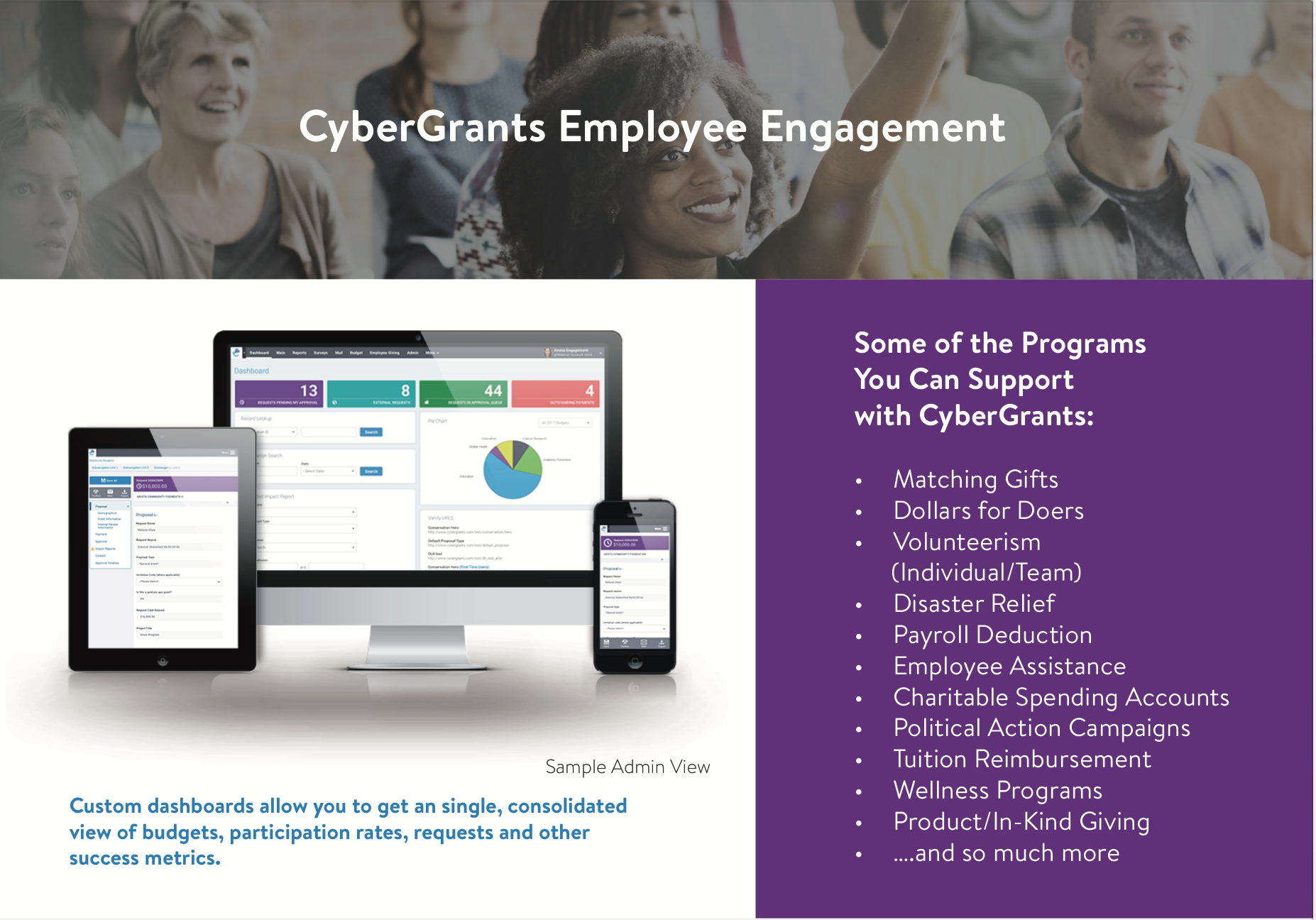 employee engagement system screenshot